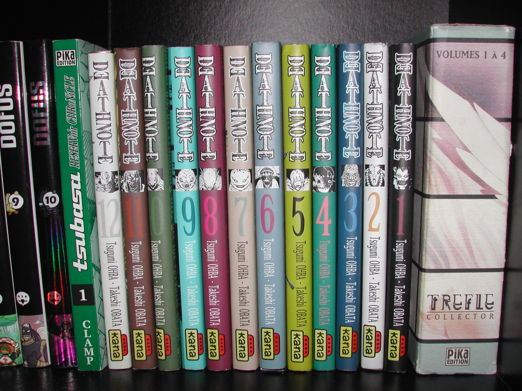 Et de 12 volumes de Death Note !
