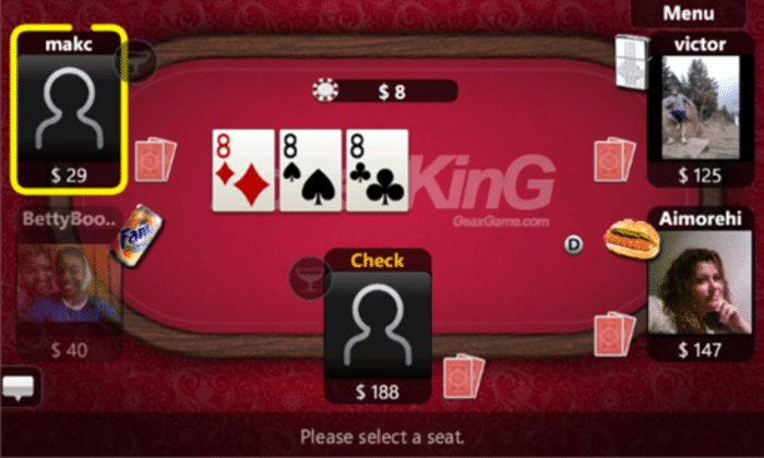 Texas Hold'em Poker sur Windows Phone