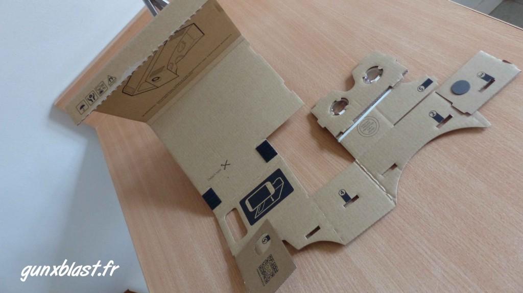 Construction du Google Cardboard