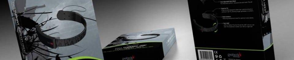 TX-1 Throat Mic Gioteck pour xbox360