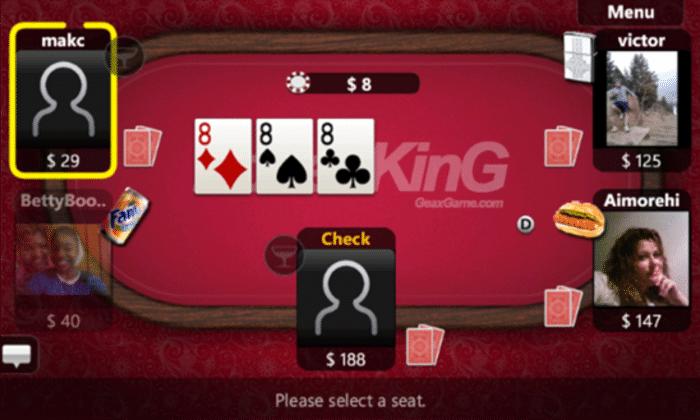 Texas Hold'em Poker sur Windows Phone