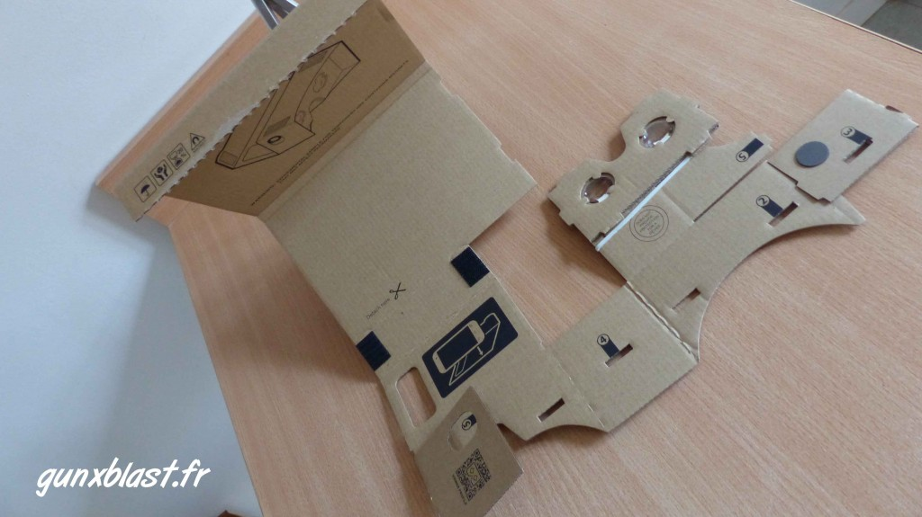 Construction du Google Cardboard