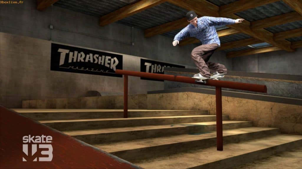 Screenshot Skate 3 Xbox 360