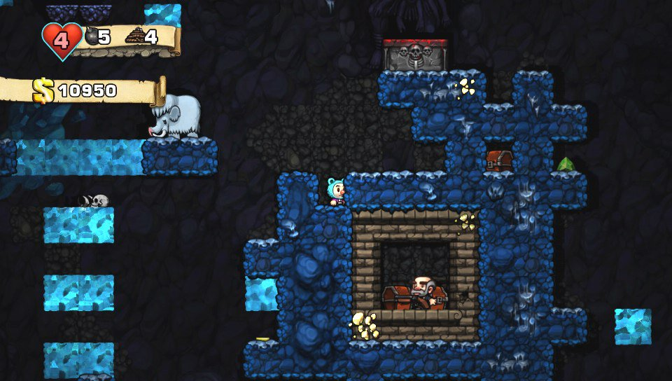 Marchand Spelunky Cave